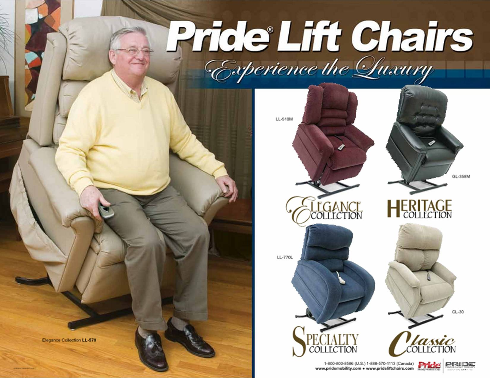 Pride lift chairs logo - Come To Our Showroom For A Demonstration